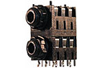 Cliff S2C Stackjack® Series Jack Sockets add Rugged Halves Space Requirement